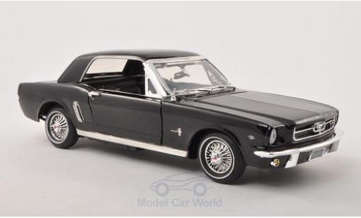 Ford Mustang 1/18 Motormax Hardtop black 1964 diecast