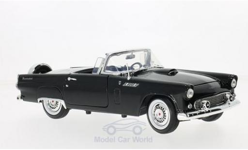 Ford Thunderbird 1956 1/18 Motormax Convertible noire miniature