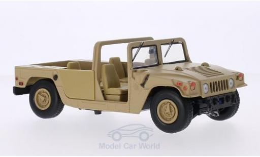 Hummer Humvee 1/24 Motormax matt-beige Base Platform miniature