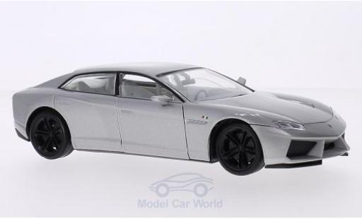 Lamborghini Estoque 1/18 Motormax métallisé grise miniature