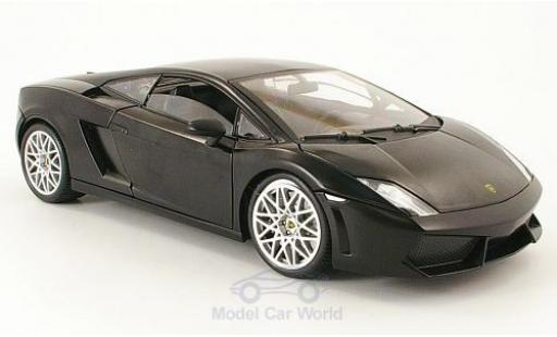 Lamborghini Gallardo LP560-4 1/18 Motormax matt-noire miniature