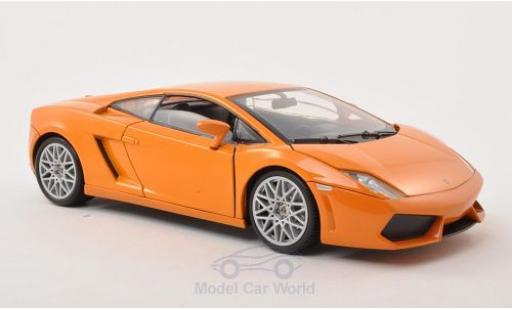 Lamborghini Gallardo LP560-4 1/18 Motormax metallise orange diecast model cars