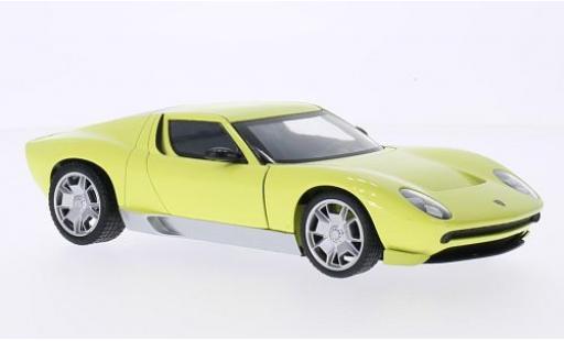 Lamborghini Miura 1/24 Motormax Concept jaune miniature