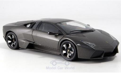 Lamborghini Reventon 1/24 Motormax matt-grey 2008 diecast model cars