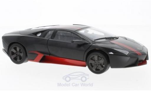 Lamborghini Reventon 1/24 Motormax matt-black/red diecast