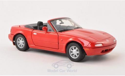 Mazda MX 1/24 Motormax -5 Miata rouge miniature