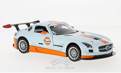 Mercedes SLS 1/24 Motormax AMG GT3 Gulf miniature