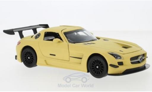 Mercedes SLS 1/24 Motormax AMG GT3 matt-beige diecast model cars