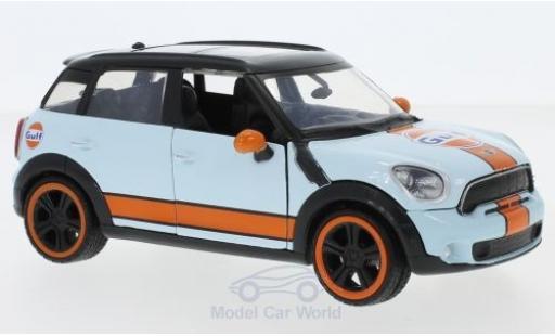 Mini Cooper S 1/24 Motormax S Countryman Gulf miniature
