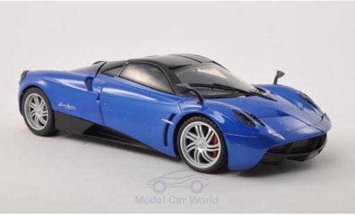 Pagani Huayra 1/18 Motormax metallise bleue/noire miniature