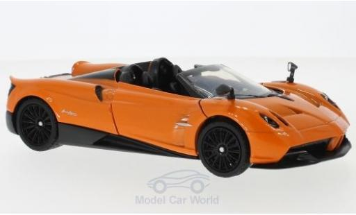 Pagani Huayra 1/24 Motormax Roadster metallise orange miniature