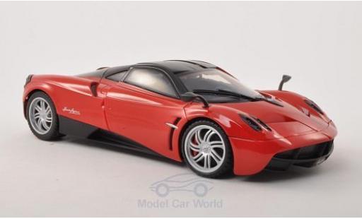 Pagani Huayra 1/18 Motormax rouge/noire miniature