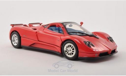 Pagani Zonda R 1/18 Motormax C12 rouge 2004 miniature