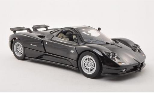 Pagani Zonda R 1/24 Motormax C12 noire miniature