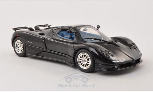 Pagani Zonda R 1/18 Motormax C12 noire 2004 miniature
