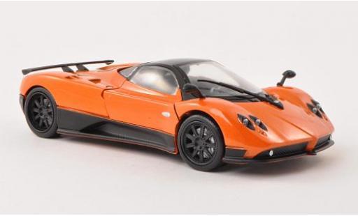 Pagani Zonda 1/24 Motormax F orange sans Vitrine miniature