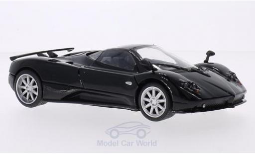Pagani Zonda 1/24 Motormax F noire miniature