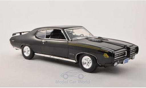 Pontiac GTO 1/18 Motormax Judge noire 1969 ohne Vitrine miniature