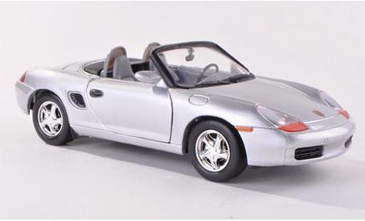 Porsche Boxster 1/24 Motormax (986) grise miniature