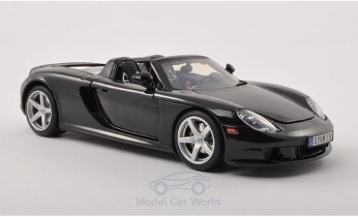 Porsche Carrera GT 1/18 Motormax noire 2004 miniature