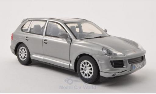 Porsche Cayenne 1/24 Motormax (9PA) metallise grey 2008 ohne Vitrine diecast model cars