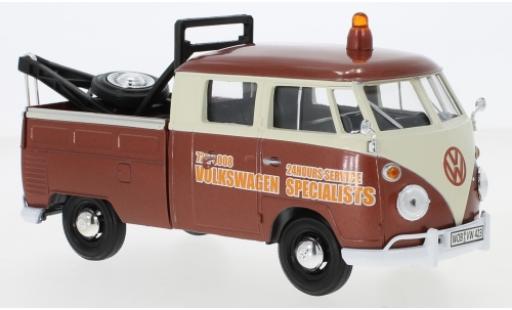 Volkswagen T1 1/24 Motormax Abschleppwagen Specialists miniature