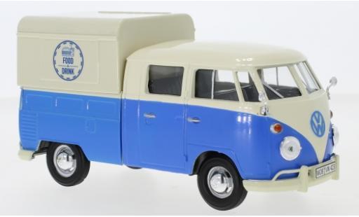 Volkswagen T1 1/24 Motormax Doka Food Truck miniature