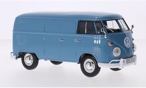 Volkswagen T1 1/24 Motormax Kasten bleue miniature