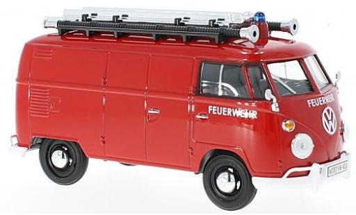 Volkswagen T1 1/24 Motormax pompiers miniatura