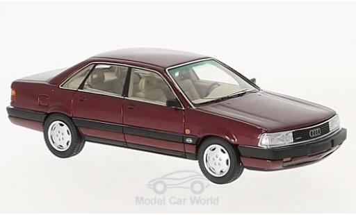 Audi 200 quattro 1/43 Neo 20V metallise rouge 1990 miniature