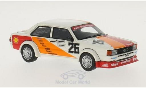 Audi 80 1/43 Neo Gr.II No.26 Motorsport ETCC Monza 19 W.Bergmeister/H-J.Nowak miniature