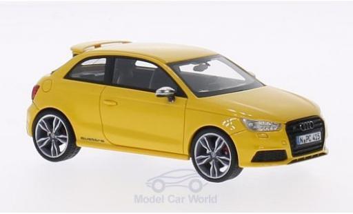 Audi S1 1/43 Neo jaune 2014 miniature