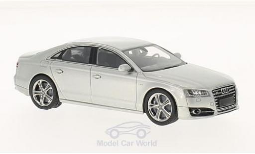 Audi S8 1/43 Neo PA métallisé grise 2014 miniature