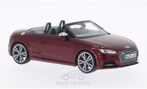 Audi TT 1/43 Neo S Roadster metallise red 2014 diecast model cars