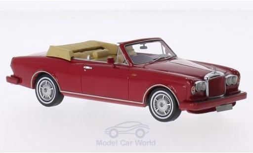 Bentley Continental 1/43 Neo DHC rouge RHD 1985 miniature