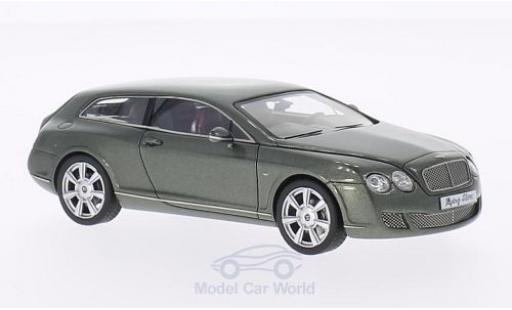 Bentley Continental 1/43 Neo Flying Star by Touring métallisé verte 2010 miniature