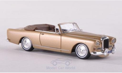 Bentley S3 1/87 Neo SIII Continental Mulliner Park Ward Drop Head métallisé beige 1964 miniature