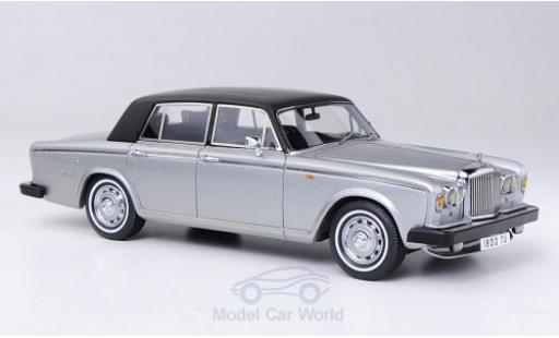 Bentley T2 1/43 Neo Saloon metallise grise/matt-noire RHD 1977 miniature
