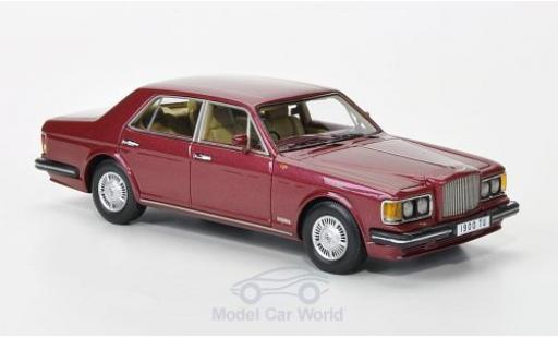 Bentley Turbo R 1/43 Neo metallise rouge RHD 1985 miniature