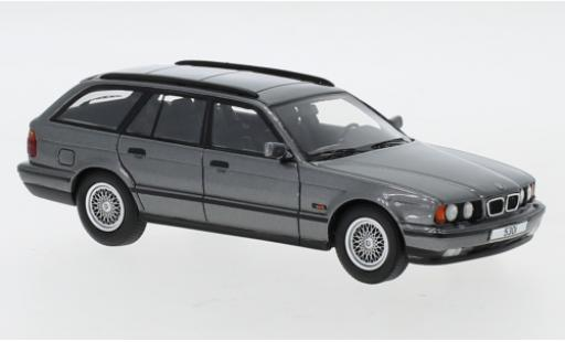 Bmw 530 1/43 Neo i (E34) Touring metallise grey diecast model cars