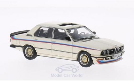 Bmw M5 E12 1/43 Neo 35i  blanche/Dekor 1980 miniature