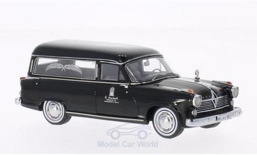 Borgward Hansa 2400 1/43 Neo Rappold noire 1957 Bestattungswagen miniature