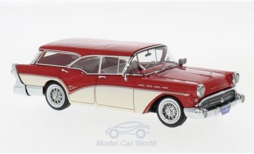 Buick Century 1/43 Neo Caballero Estate Wagon rouge/beige 1957 miniature
