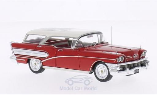 Buick Century 1/43 Neo Caballero rouge/blanche 1958 miniature