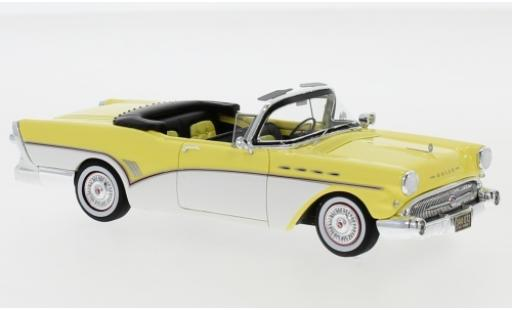 Buick Roadmaster 1/43 Neo Convertible yellow/white 1957 diecast model cars