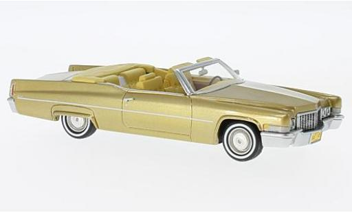 Cadillac Deville 1/43 Neo DeVille Convertible gold 1970 miniature