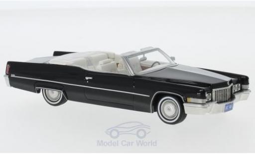 Cadillac Deville 1/43 Neo DeVille Convertible negro 1970 miniatura