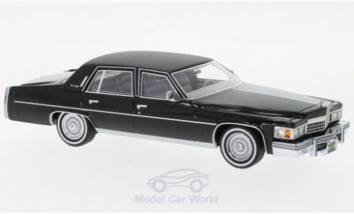 Cadillac Fleetwood 1/43 Neo Brougham noire 1978 miniature