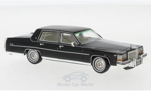 Cadillac Fleetwood 1/43 Neo Brougham noire 1980 miniature