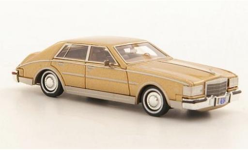 Cadillac Seville 1/87 Neo MKII gold 1984 miniature